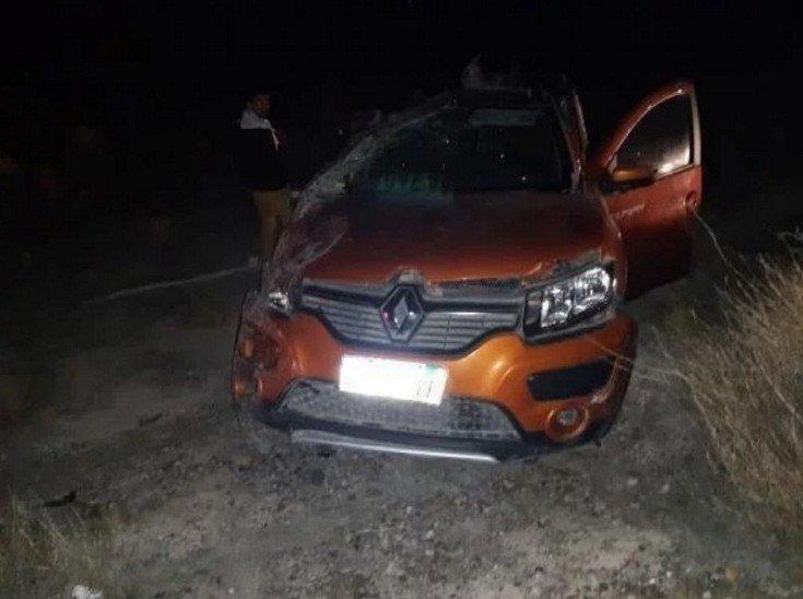 <p>Móvil. De este modo terminó el Renault Duster en el que viajaban cinco docentes, dos de ellas fallecidas.</p>