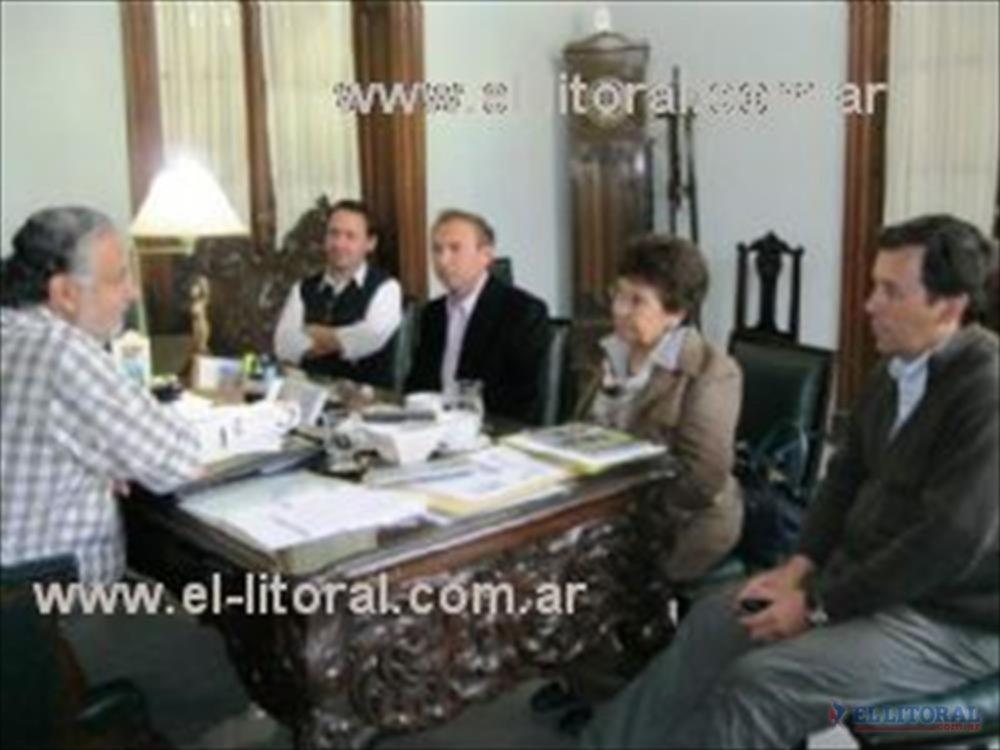 La iniciativa fue trasladada a Pedro Cassani los intendentes de Virasoro y Yapeyú.