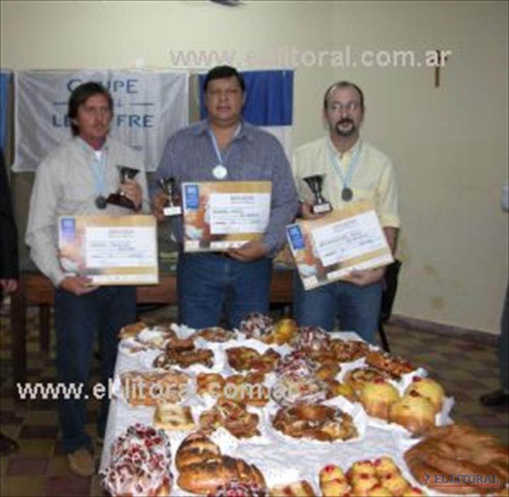 El seleccionado correntino que participa de la instancia nacional de la competencia por el mejor pan argentino.