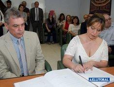 Casamiento de Luis Gurdiel y María José Le Vraux