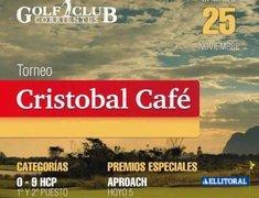 "Conferencia de Prensa Torneo de Golf ""Cristóbal Café"""