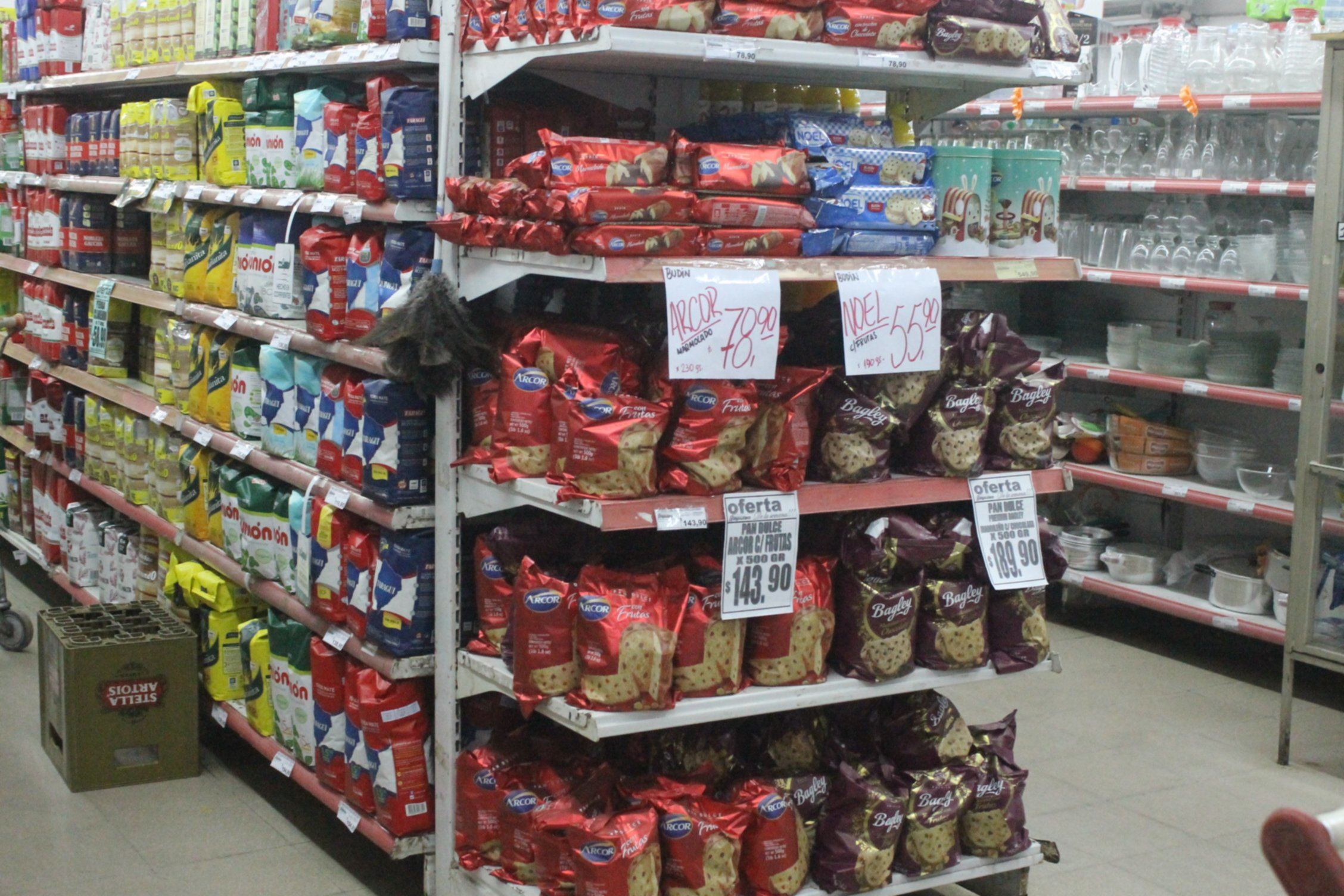 <p>Productos. El costo del pan dulce ronda los $140 y no se tiene certeza de si se mantendr&aacute; este precio hasta diciembre.</p>