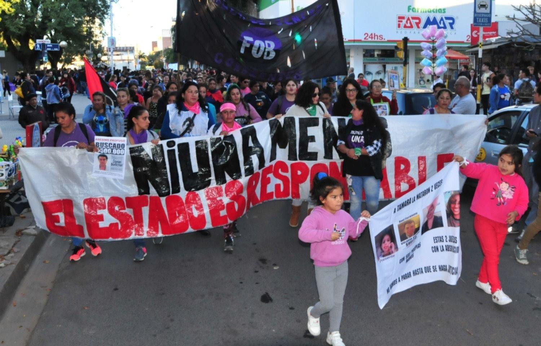 <p>Movilización. Mañana se realizará una marcha y pedirán por casos de femicidios en la provincia.</p>