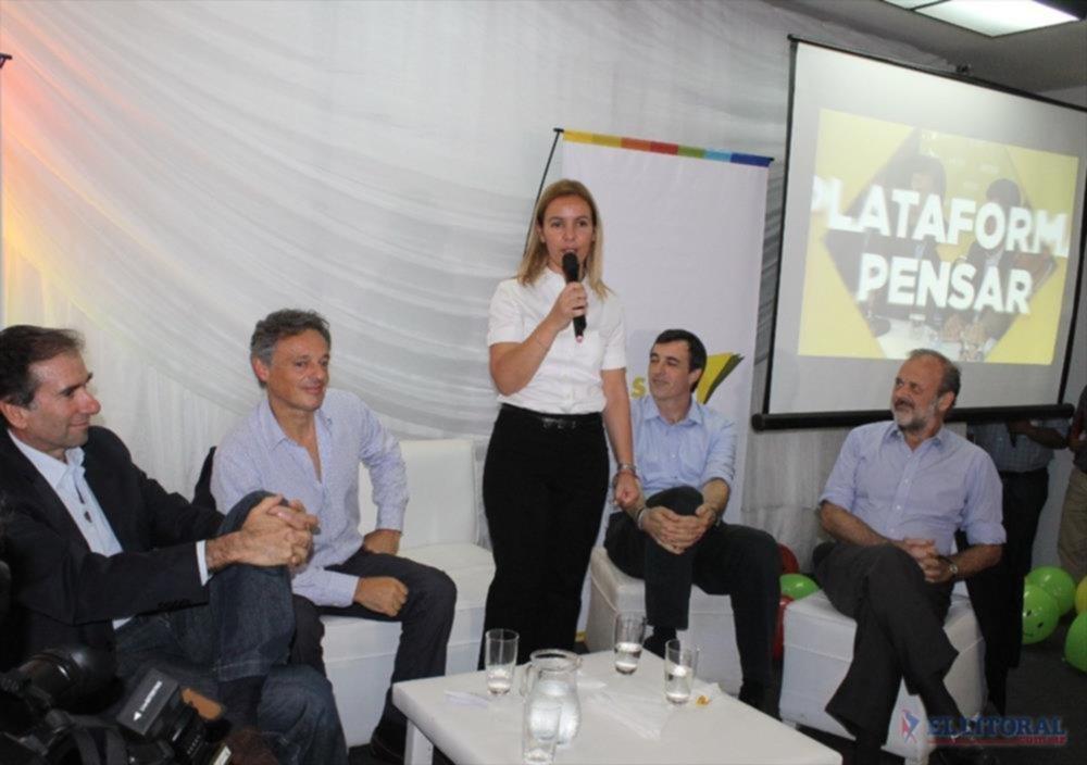 PRESENTACION. La intendente Ingrid Jetter presidirá la fundación Pensar en Corrientes.