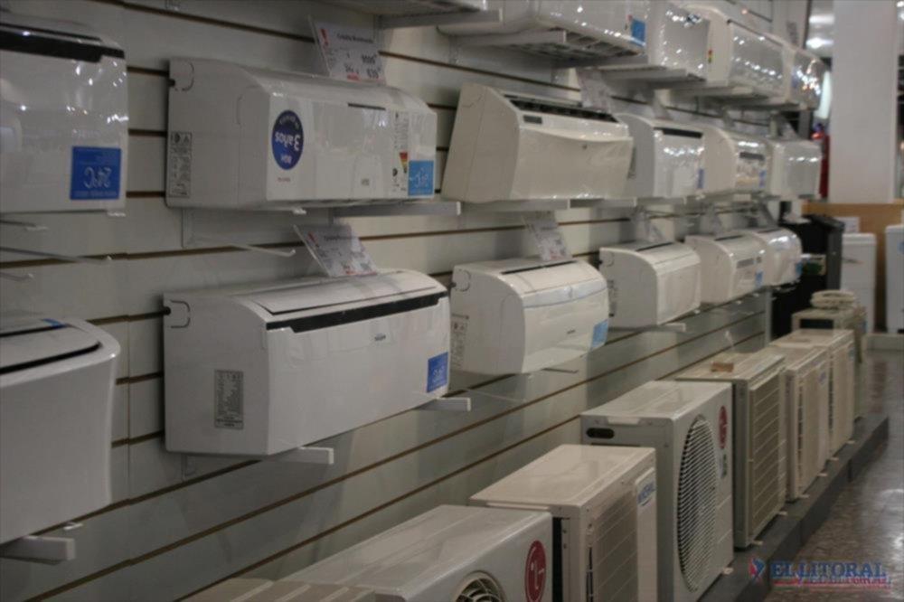 ELECTRODOMESTICOS. Uno de los rubros más afectados por la crisis.