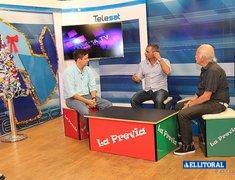 Pgm: La Previa Tv. Invitados: Luisina Ojeda (Modelo); Ezequiel Piñeyrúa (Empresario): Carlitos Báez (Abogado); Evelyn (Helados Piacepiú).