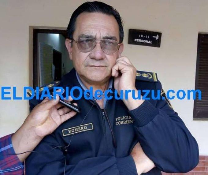 <p>Investigador. Comisario mayor Fidel Romero.</p>