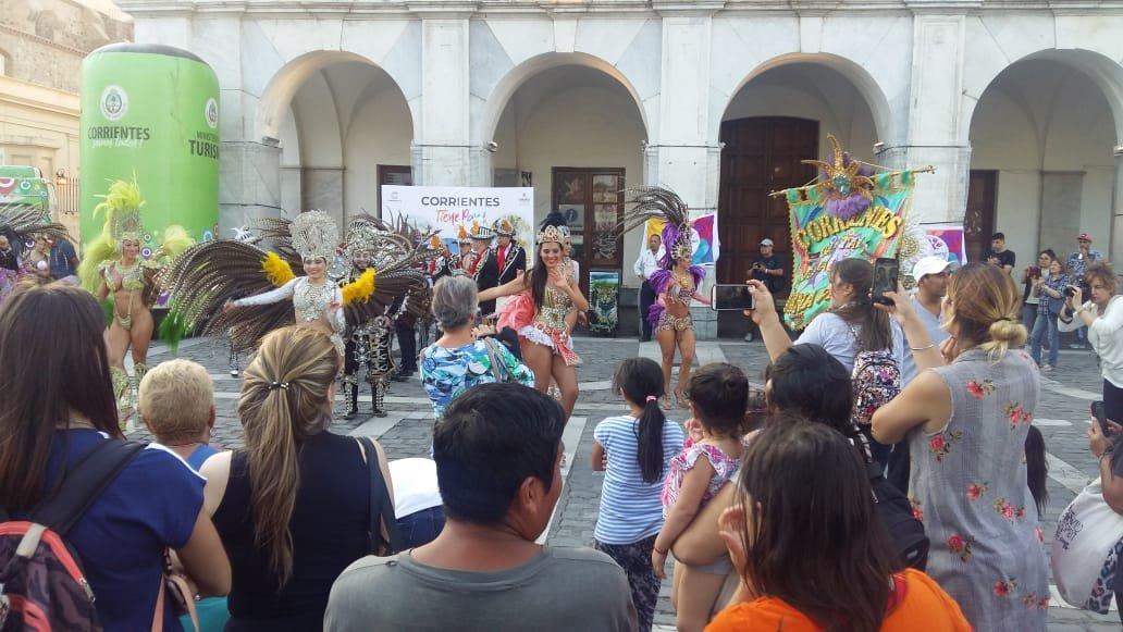 <p>Carnaval. Presentación realizada en Córdoba.</p>