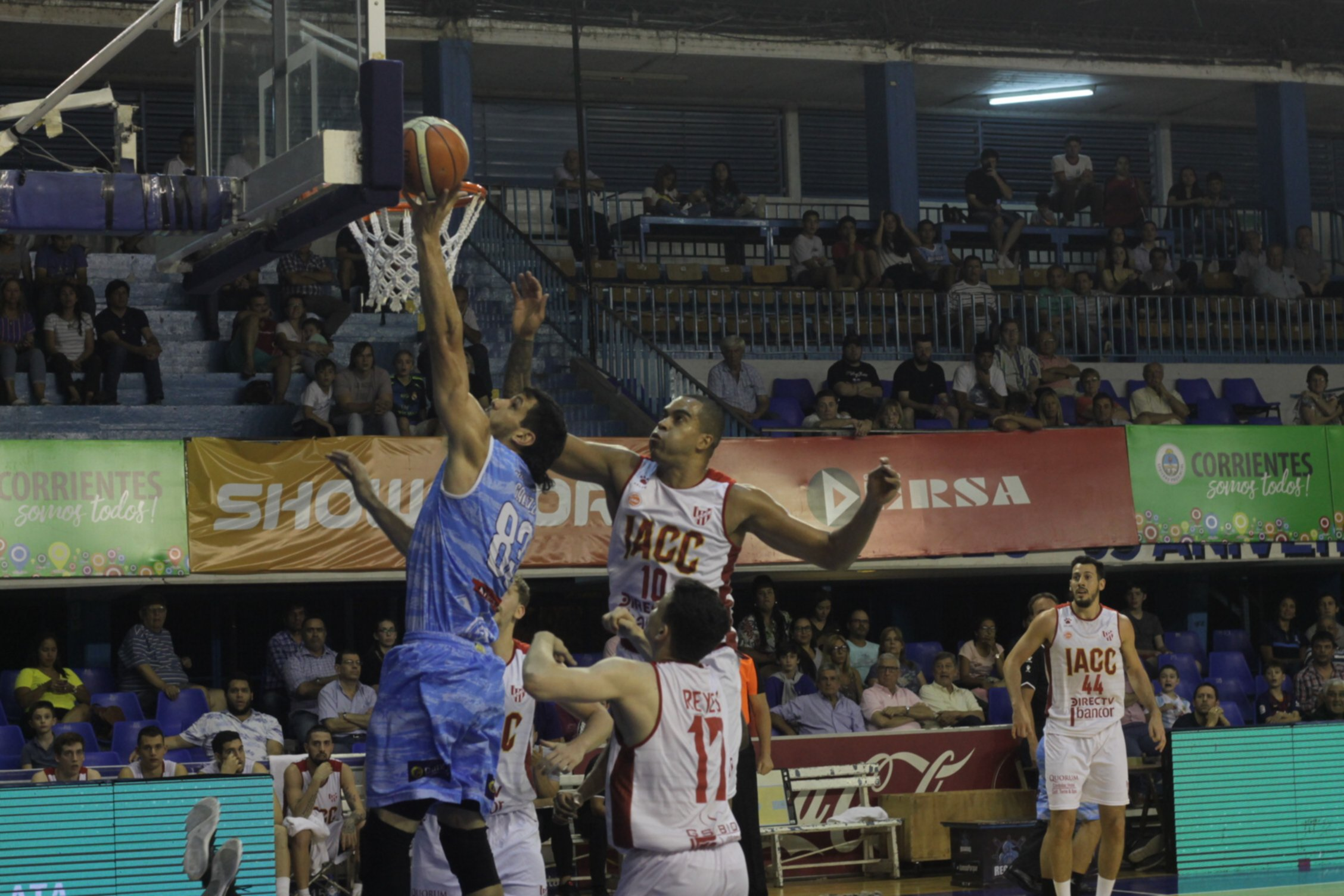 <p>Clave. Gallizi aportó 20 puntos y 8 rebotes en la victoria de Regatas frente a Instituto.</p>