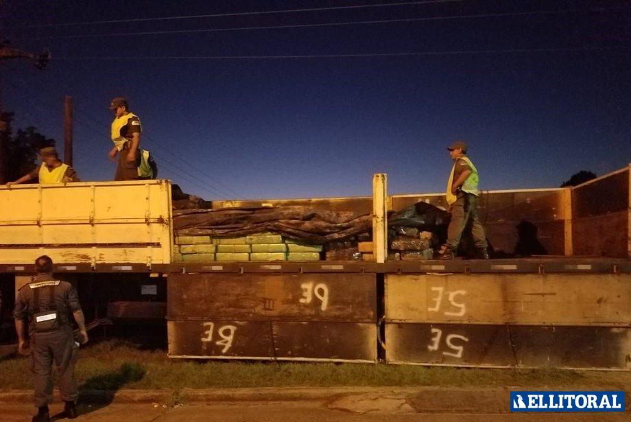 Ilegal. La carga del camión tenía colocados los precintos de Aduana, confirmaron desde la Gendarmería.