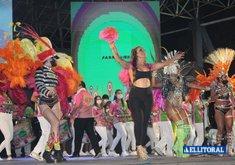 Corrientes: el carnaval volvió al anfiteatro - PH: Marcos Mendoza